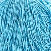 Cut 13/0 Opaque Blue Strung